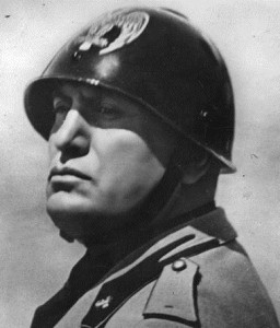 Mussolini here reflecting on how much he hated Greece