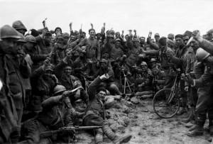 Italian troops getting ready for a rap battle