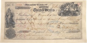 The actual note used to pay for alaska