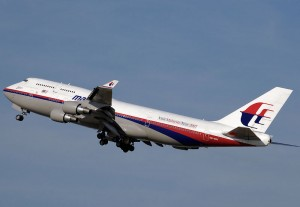 Malaysia Airline jet