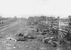 Bodies of some of the soldiers