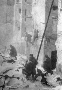 A shootout in Stalingrad