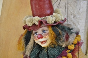 Clown dolls are always creepy