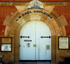 Adelaide Gaol main door