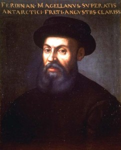 The most famous portrait of Ferdinand Magellan