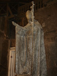 Salt_statue_of_Pope_John_Paul_II